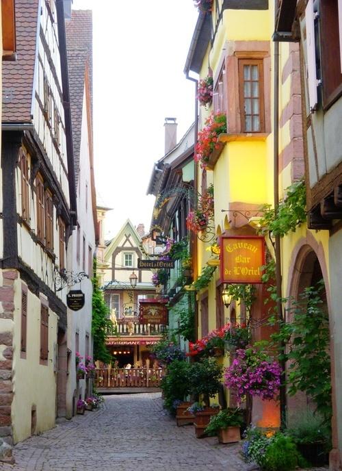 Mideival Village Alsace France